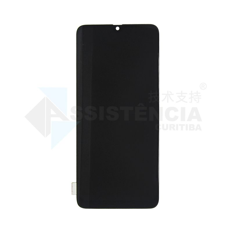 FRONTAL DISPLAY COM TOUCH CELULAR SAMSUNG GALAXY A70 A705 1ª LINHA INCELL PRETO