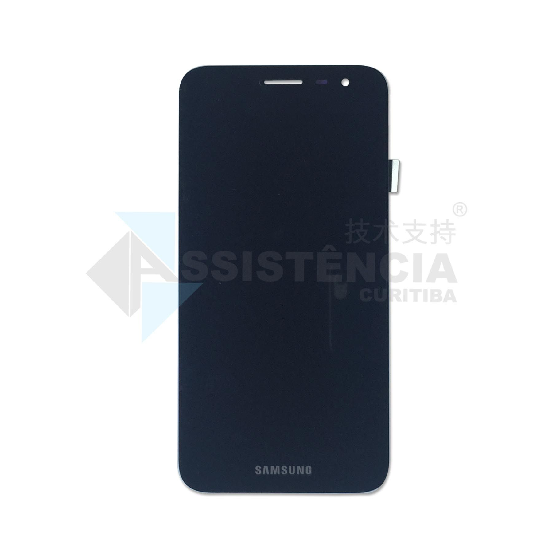 FRONTAL DISPLAY COM TOUCH CELULAR SAMSUNG GALAXY J2 CORE J260 COM BRILHO
