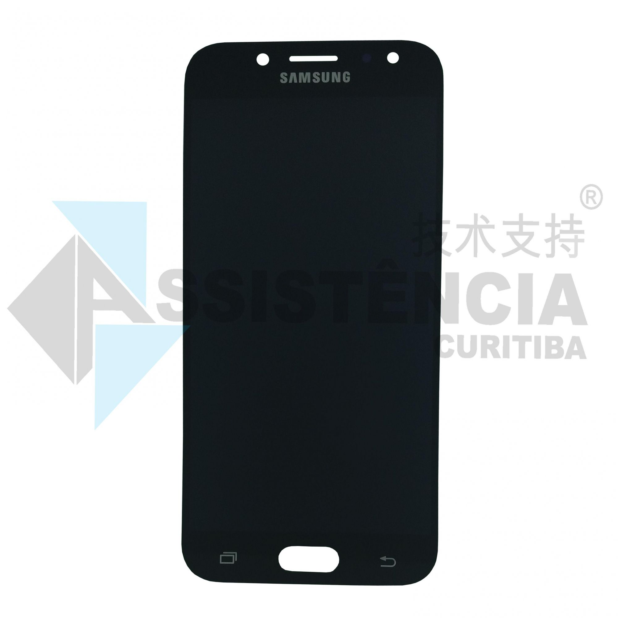 Tela Display Samsung Galaxy J5 Pro J530 Com Brilho Preto