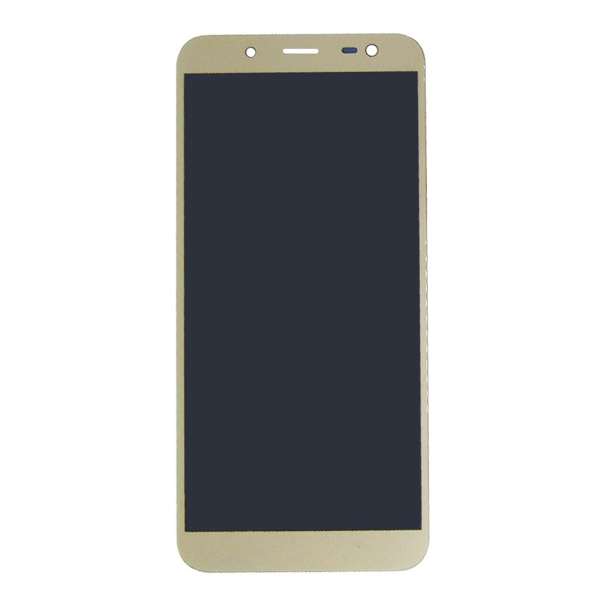 FRONTAL DISPLAY COM TOUCH CELULAR SAMSUNG GALAXY J6 J600 COM BRILHO DOURADO