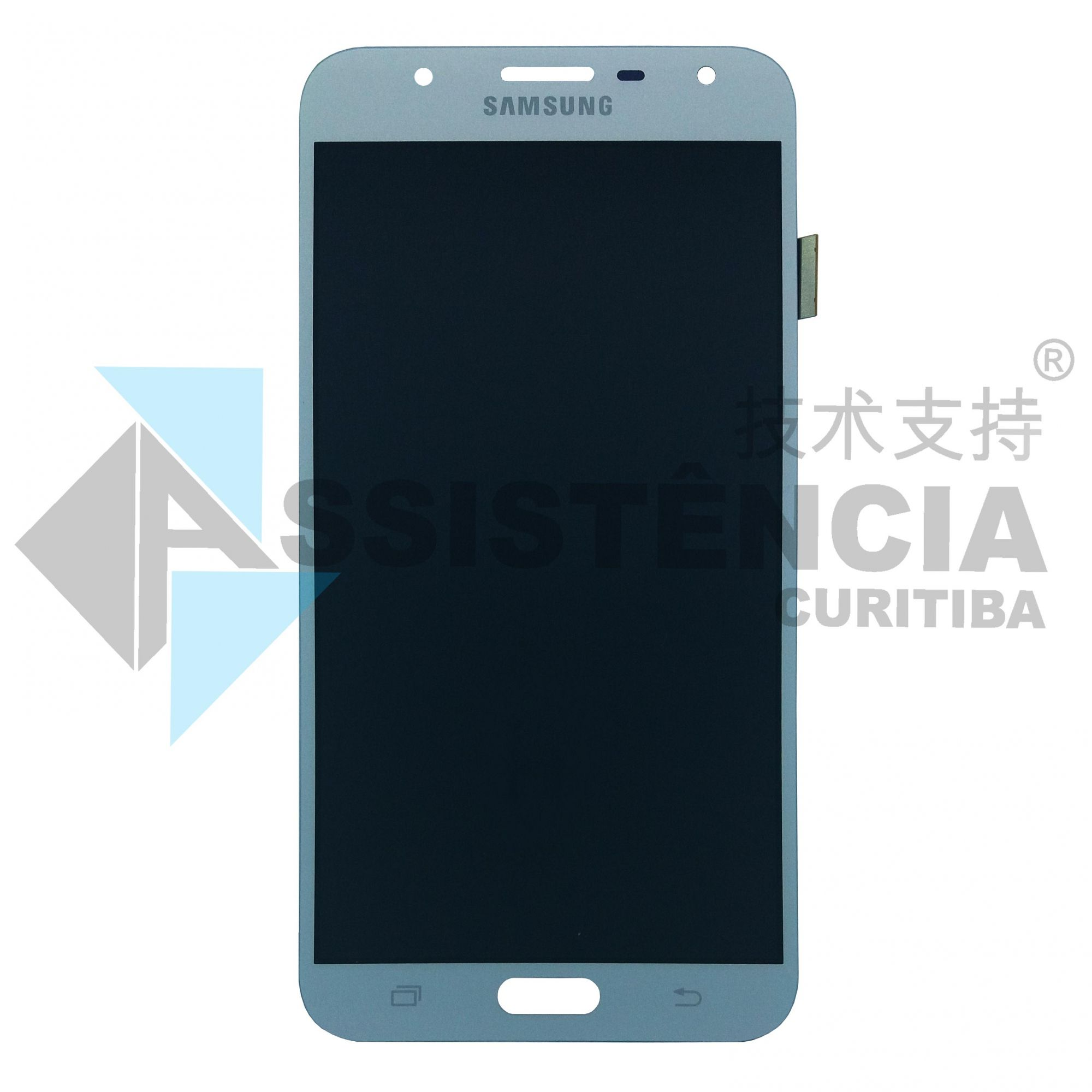 Tela Display Samsung Galaxy J7 Neo J701 Com Brilho Prata