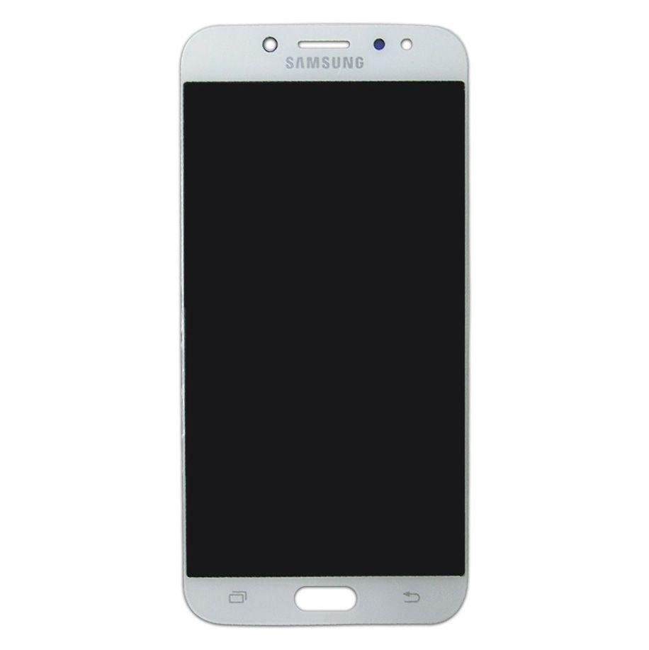 Tela Display Samsung Galaxy J7 Pro J730 SM-J730 Original Ch Branco