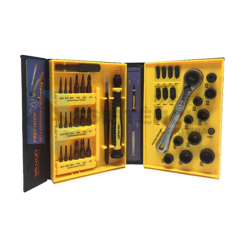 Kit De Ferramentas Profissional Yaxun Yx6023