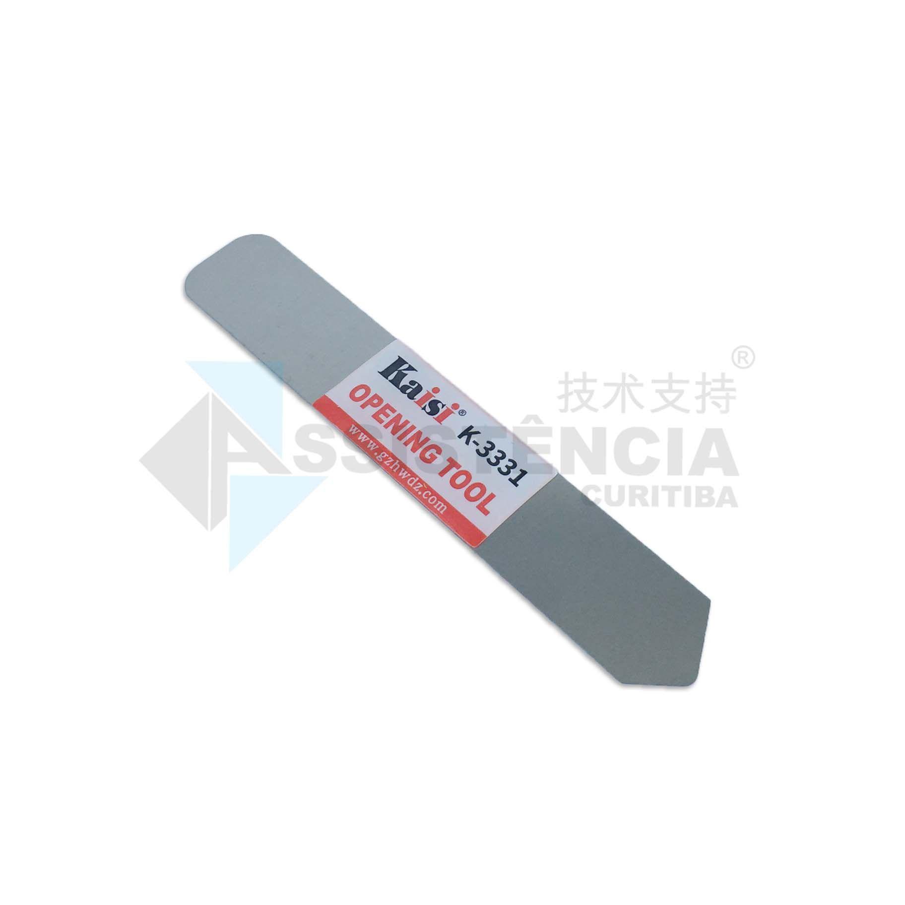 Lamina Espátula De Aço Inox Flexível Kaisi K-3331