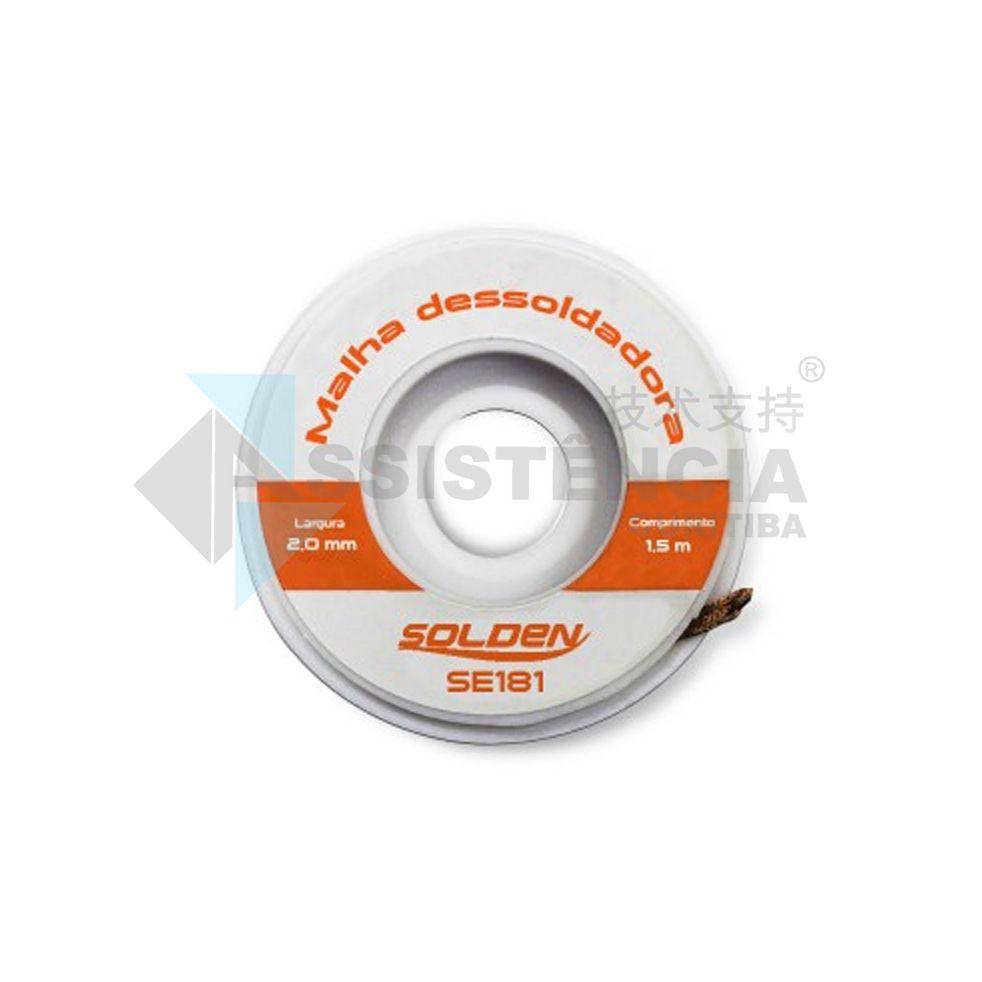 MALHA DESSOLDADORA SOLDEN SE181 2mm