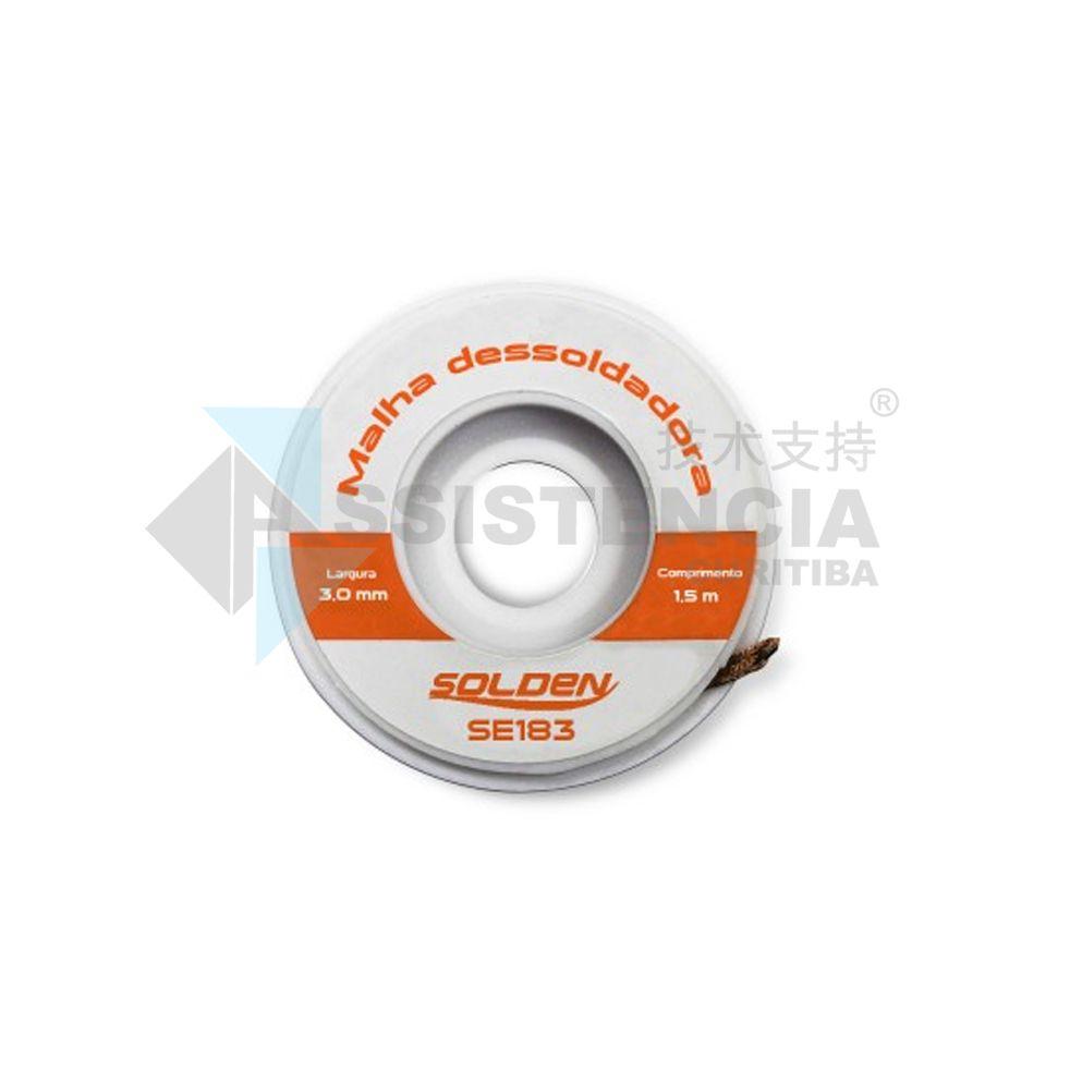 MALHA DESSOLDADORA SOLDEN SE183 3mm