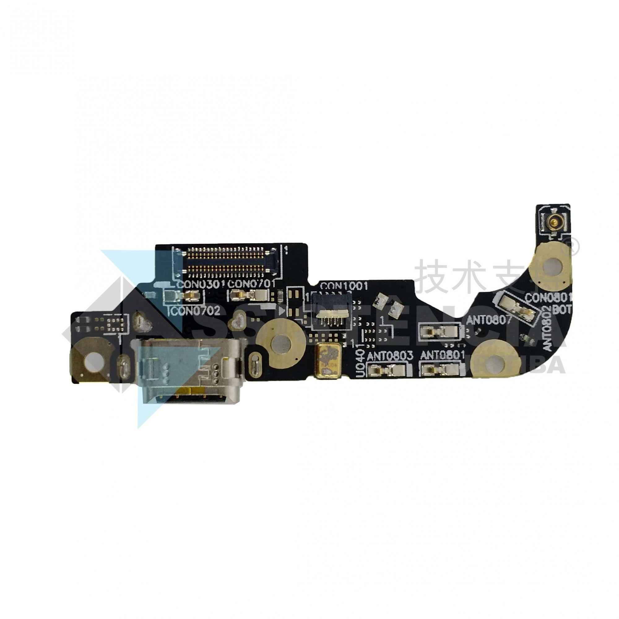 PLACA COM CONECTOR CARGA E MICROFONE ASUS ZENFONE 3 ZE552KL Z012D