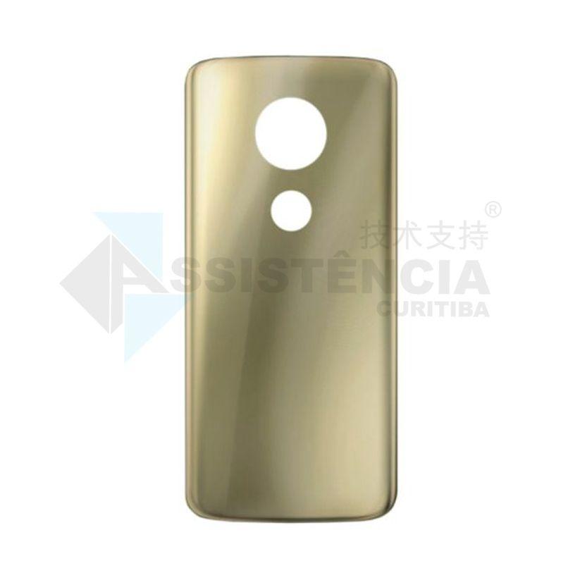Tampa Traseira Motorola Moto E5 Plus Xt1924-4 Dourada