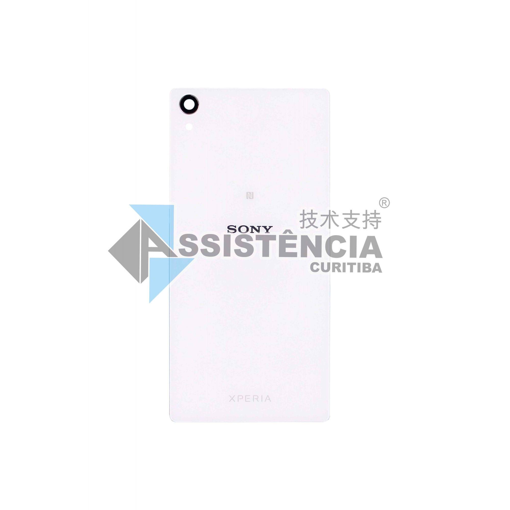 Tampa Traseira Sony Xperia Z2 D6502 D6503 D6543 Vidro Branco