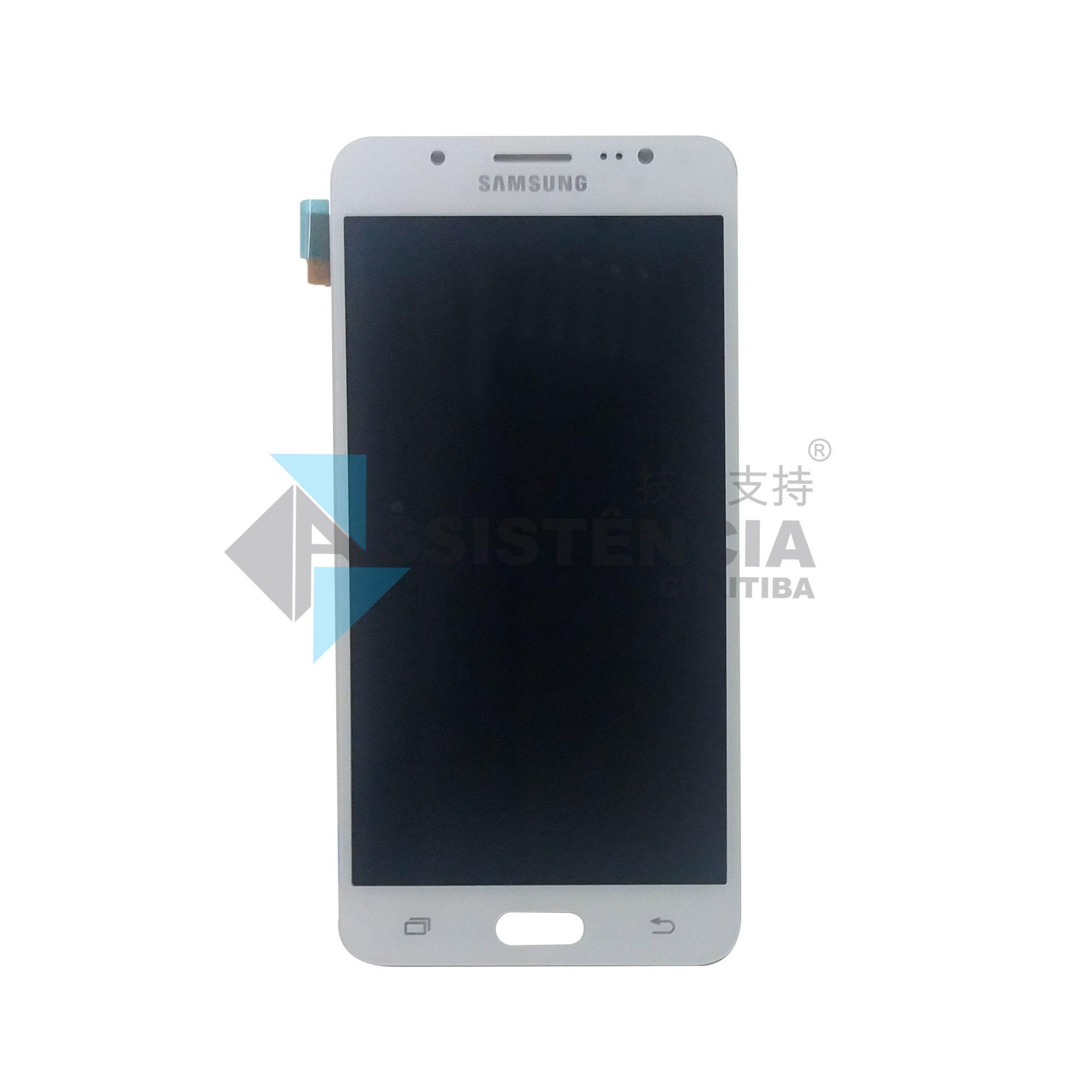 Tela Display Samsung Galaxy J5 J510 Metal 2016 Sm-J510Mm Original Ch Branco