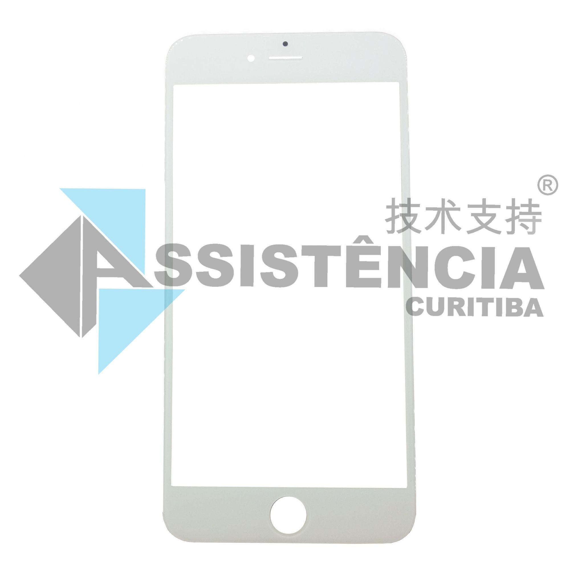 Tela Lente Apple Iphone 6 Plus Branco