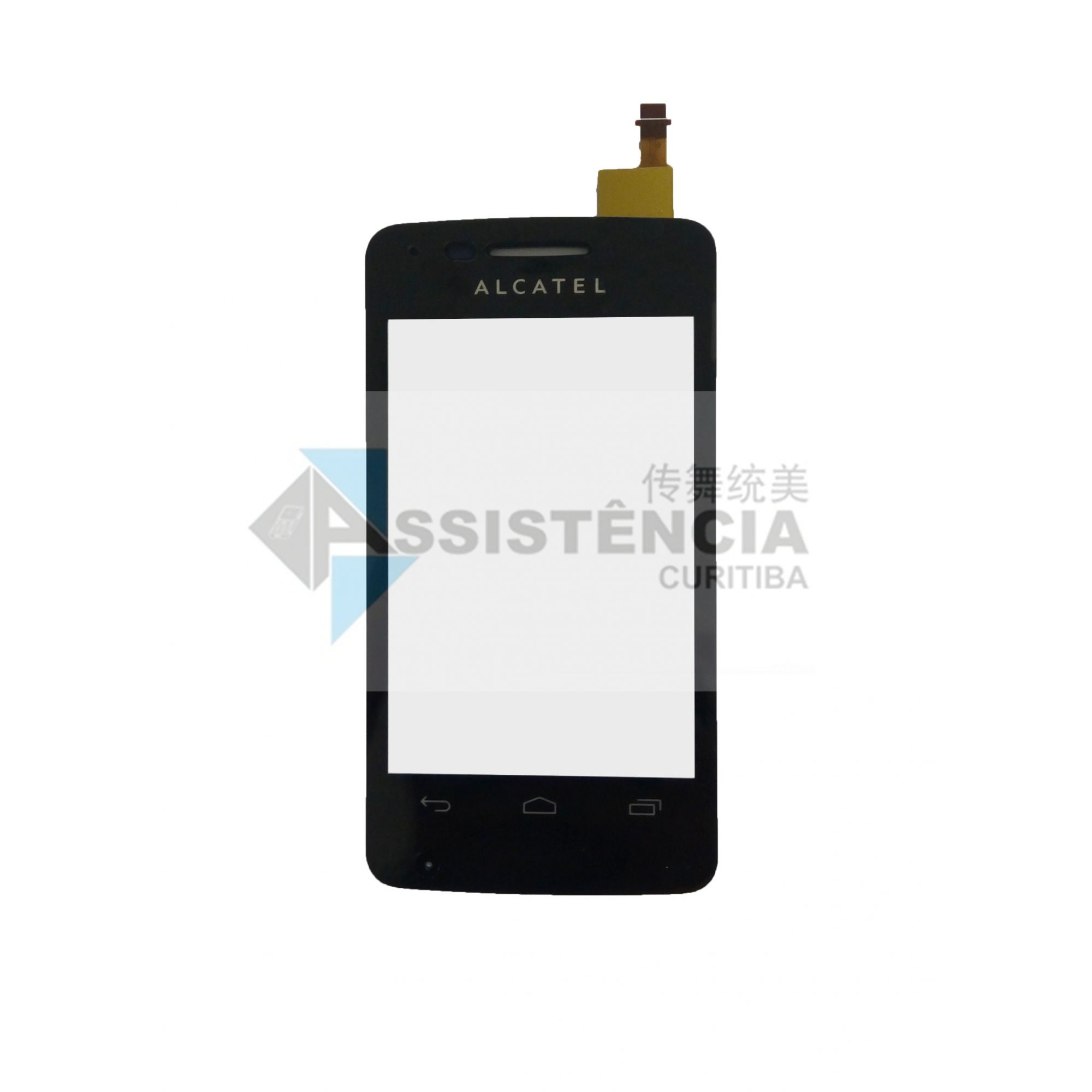 Tela Touch Alcatel Onetouch Pop 4010 Preto
