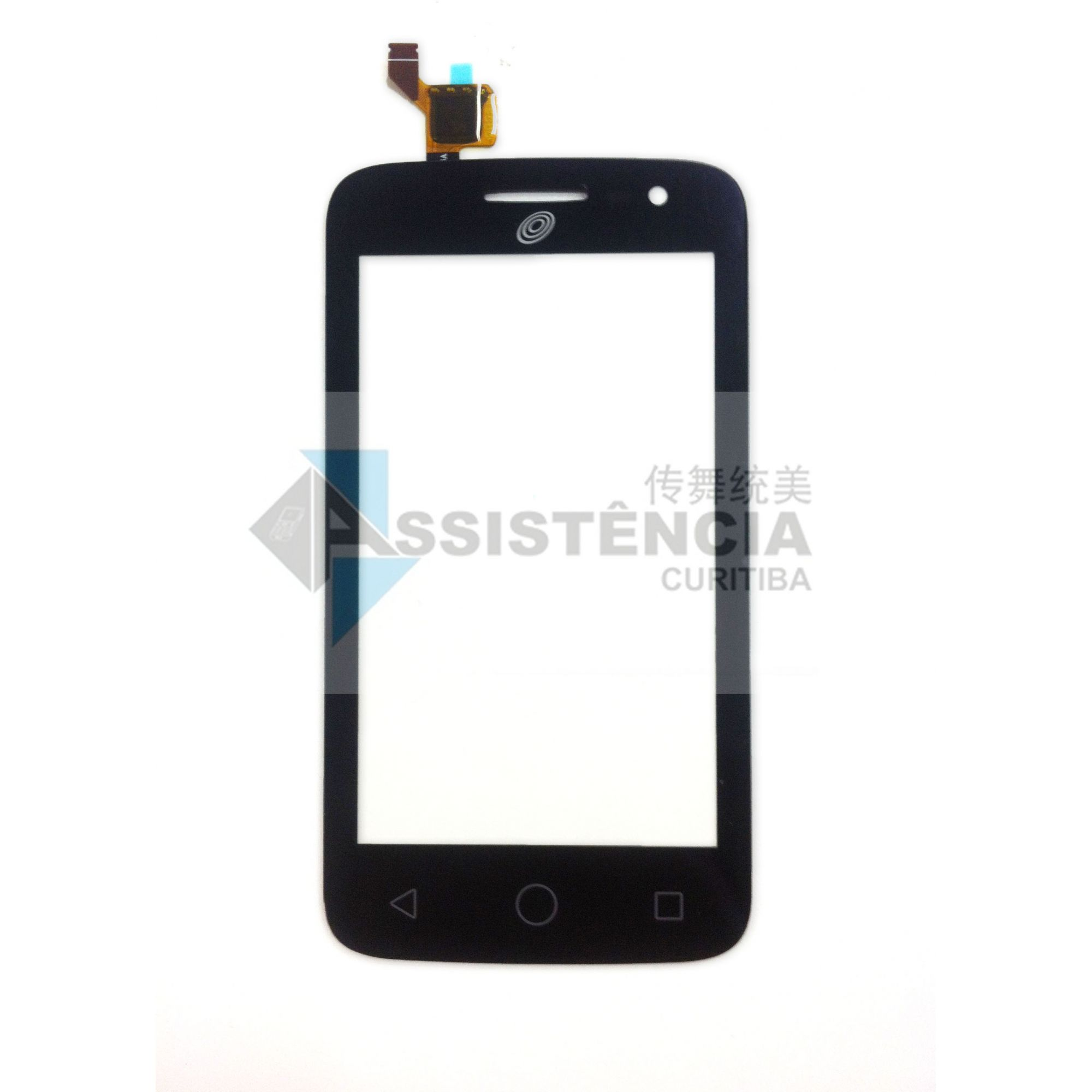 TELA TOUCH CELULAR ALCATEL POP 2 OT4045 4045A PRETO