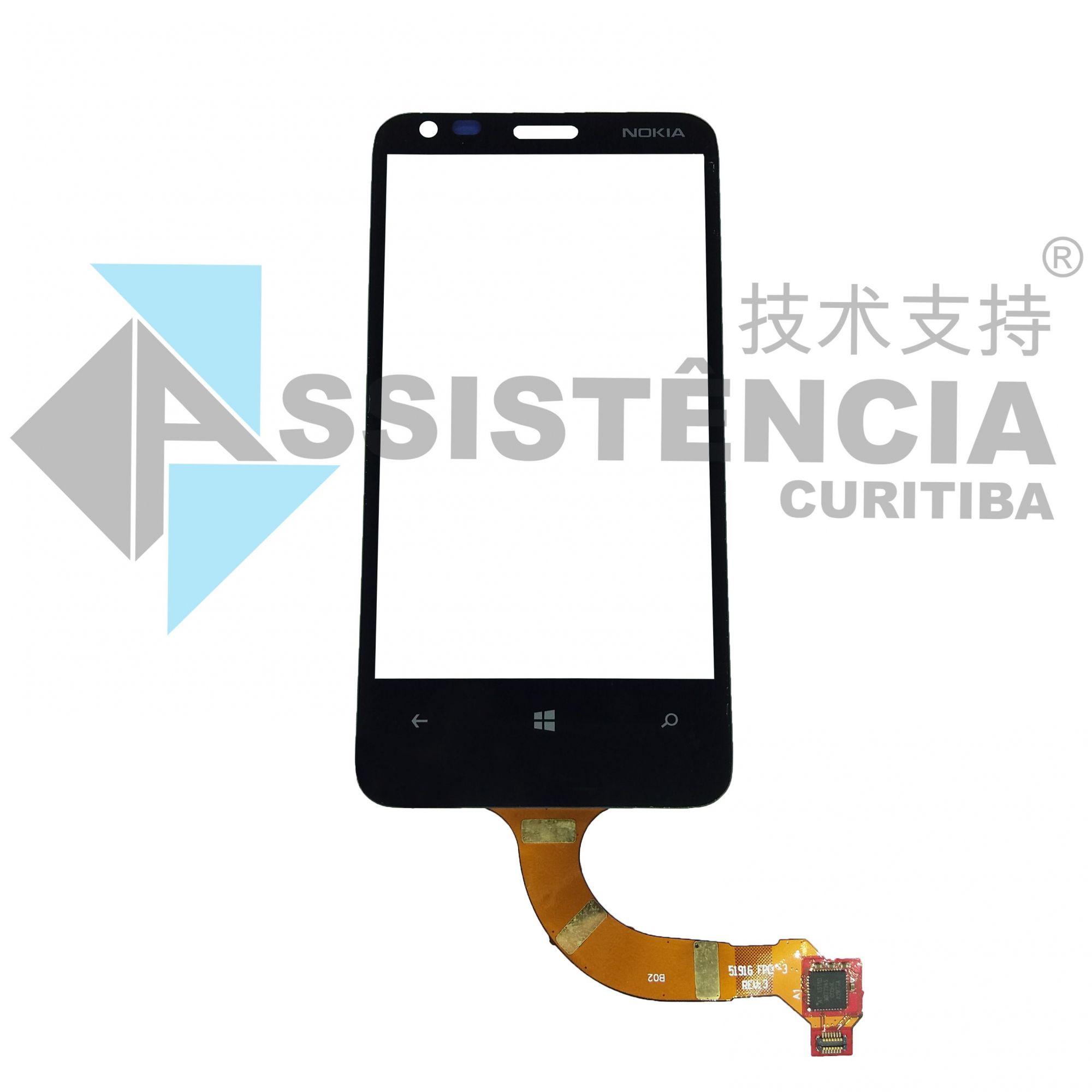 Tela Touch Microsoft Nokia Lumia N620 620