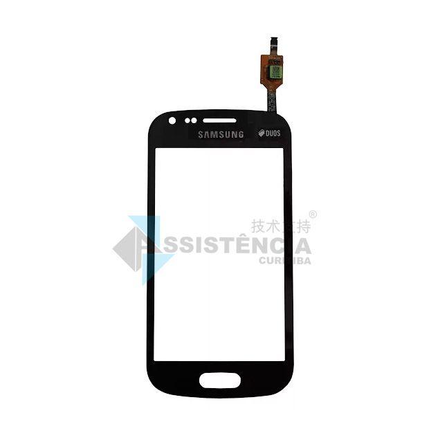 Tela Touch Samsung Galaxy Duos 2 S7582 Gt S7560 S7562 Preto