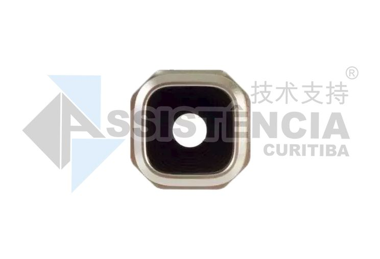 Vidro Lente Câmera Samsung Galaxy A3 Sm-A310 Sm-A510 Sm-A710 Dourado