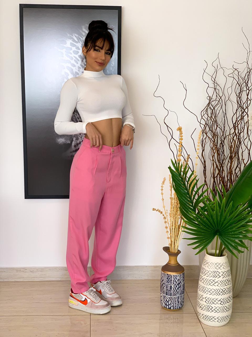 Calça Savana rosa