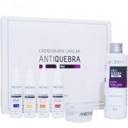 Aneethun Kit Cronograma Antiquebra 4 Ampolas Trat.10ml e 1Elixir80ml