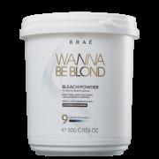 Brae Wanna Be Blond - Pó Descolorante 500g
