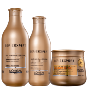 Loreal Absolut Repair Gold Quinoa + Protein Golden Trio (3 Produtos)