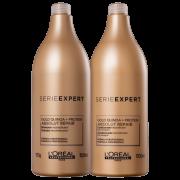 Loreal Kit Absolut Repair Gold Quinoa + Protein Salon Duo (2 Produtos)