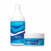 Lowell Shampoo Mirtilo 1l + Máscara 240g