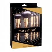 Macrilan Kit Com 5 Pincéis Profissionais Precious Gold Ed006