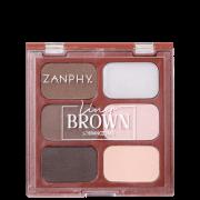 Zanphy Liner Brown - Paleta para Sobrancelha 11,7g