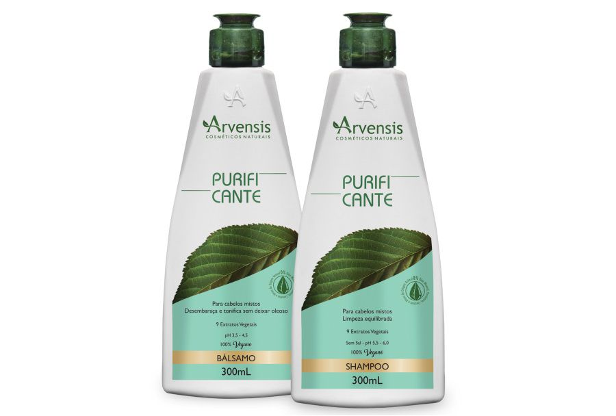 Arvensis Kit Purificante Shampoo + Bálsamo 300ml