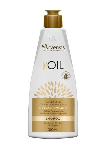 Arvensis Shampoo Tec Oil 300Ml