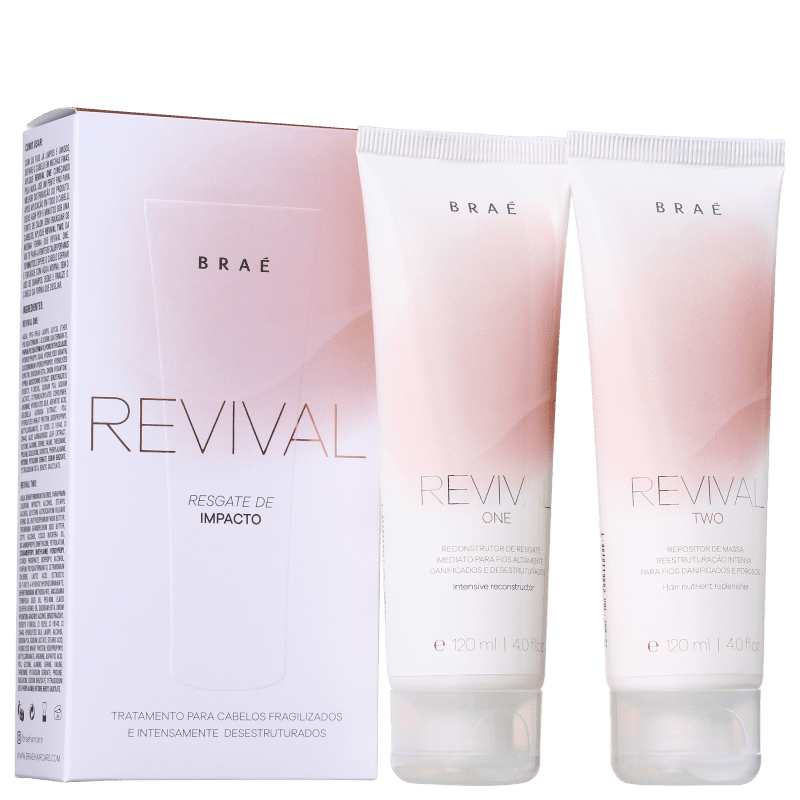 Brae Kit Tratamento Alto Impacto Hair Care Revival