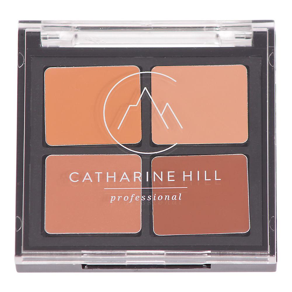 Catharine Hill Quarteto Corretivo Pele Escura - Four Concealer