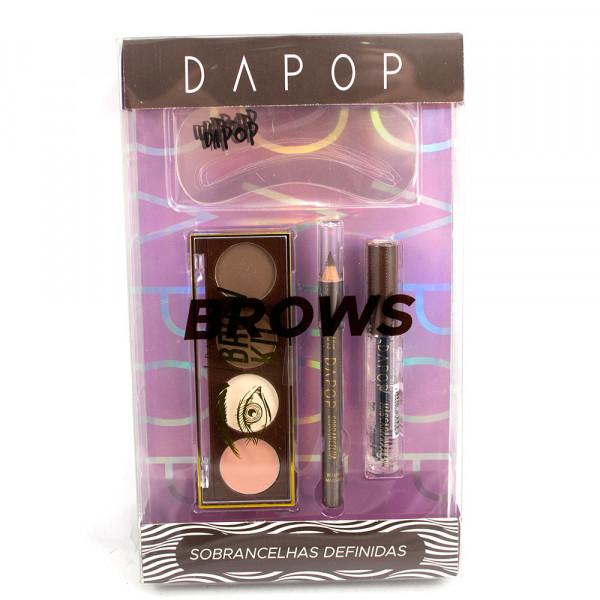 Dapop Kit para Sobrancelhas Brows