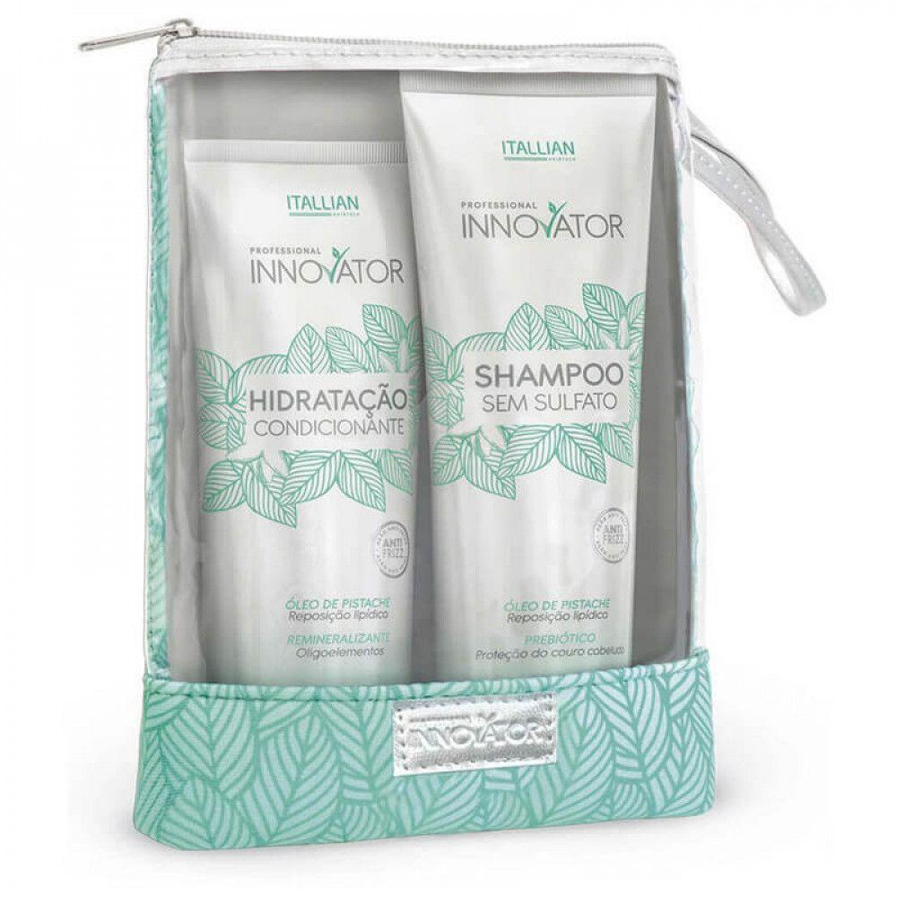 Itallian Home Care Innovator com Shampoo 280ml + Hidratação 250g