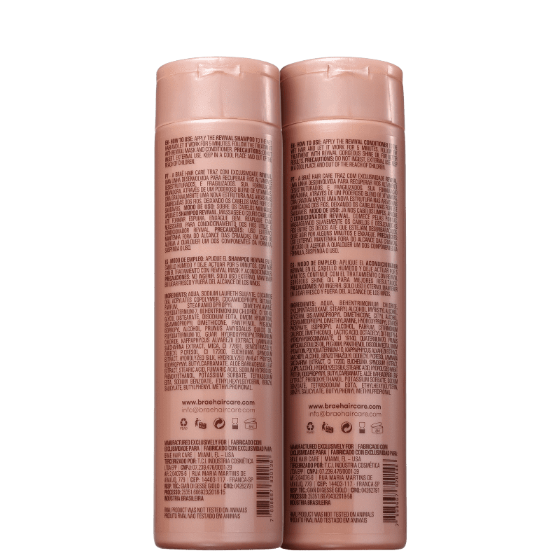 Brae Kit Revival Shampoo + Condicionador