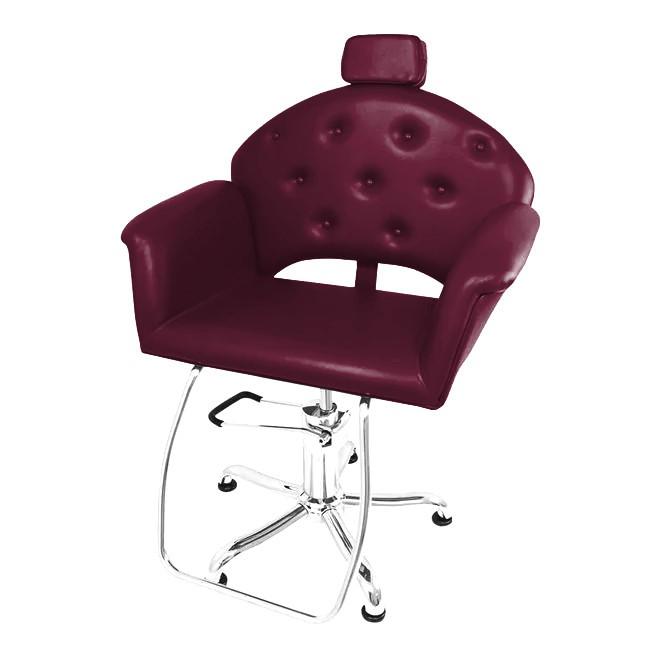 Kixiki Cadeira Velvet - Vinho