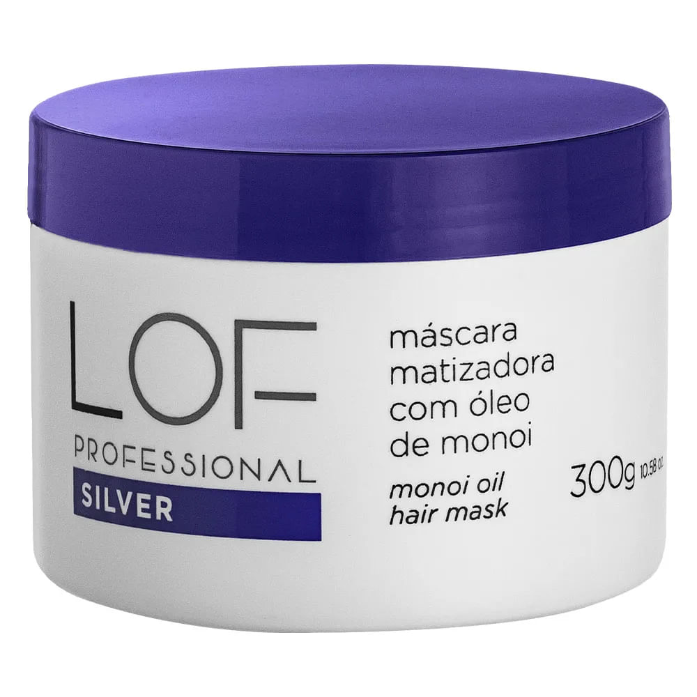 LOF Professional Kit Silver Matizador - Shampoo e Máscara