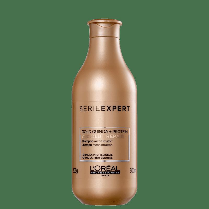 Loreal Absolut Repair Gold Quinoa + Protein - Shampoo