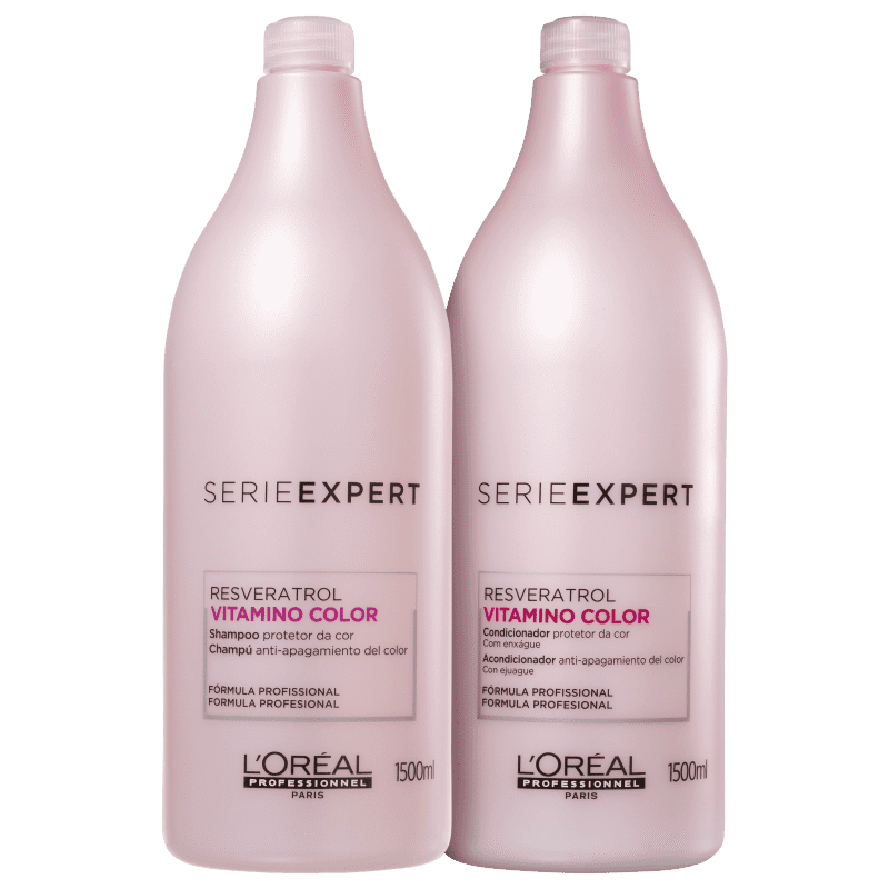 Loreal Kit Vitamino Color Resveratrol Duo (2 Produtos)