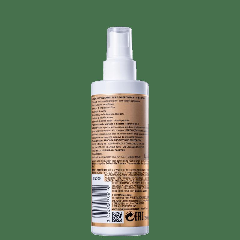 Loreal Absolut Repair Gold Quinoa 10 in 1 Spray 190ml