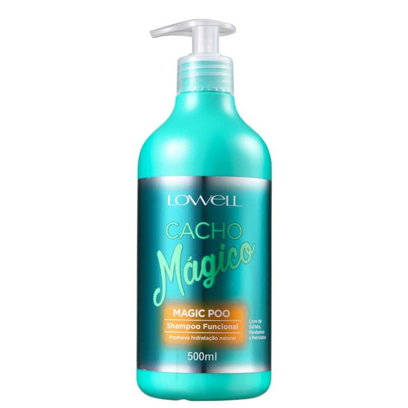 Lowell Cacho Mágico Magic Poo - Shampoo sem Sulfato 500ml