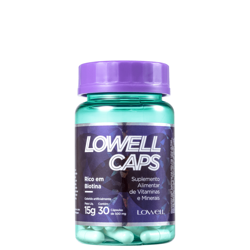 Lowell Caps - Suplemento Alimentar 30x500mg