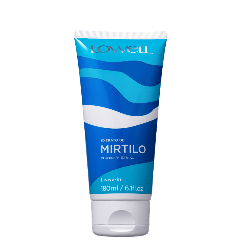 Lowell Extrato de Mirtilo - Leave-in 180ml