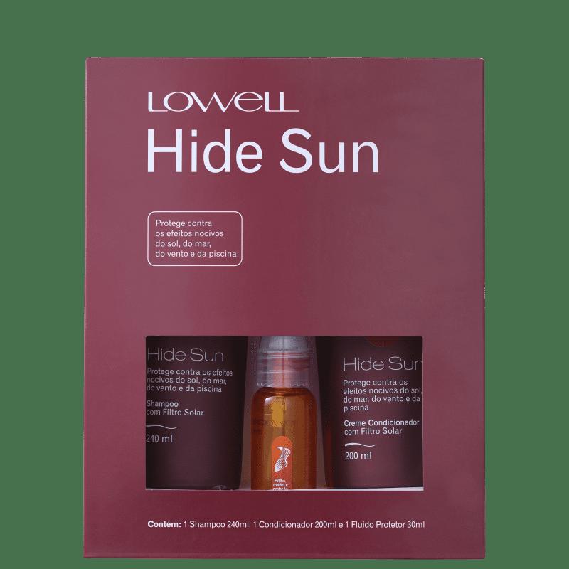 Lowell Kit Hide Sun Trio (3 Produtos)