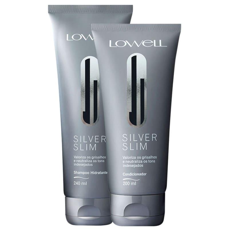 Lowell Kit Silver Slim Duo (2 Produtos)