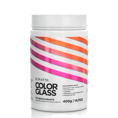 Lowell Pó Descolorante Color Glass 400g