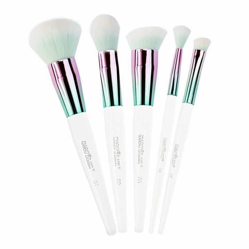 Macrilan Kit Com 5 Pincéis Glam Ed500