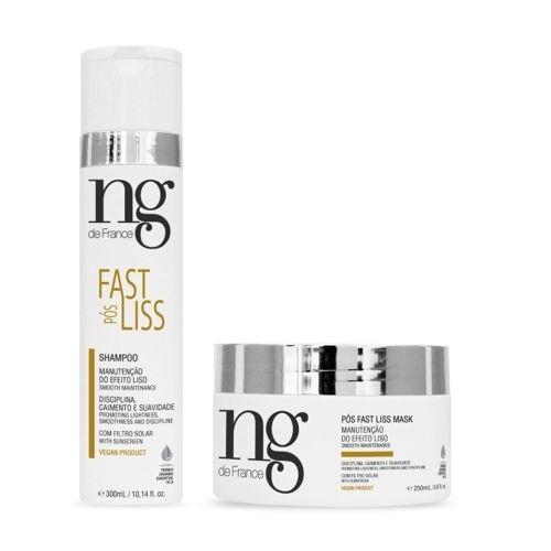 Ng de France Kit Pós Fast Liss - Shampoo e Máscara