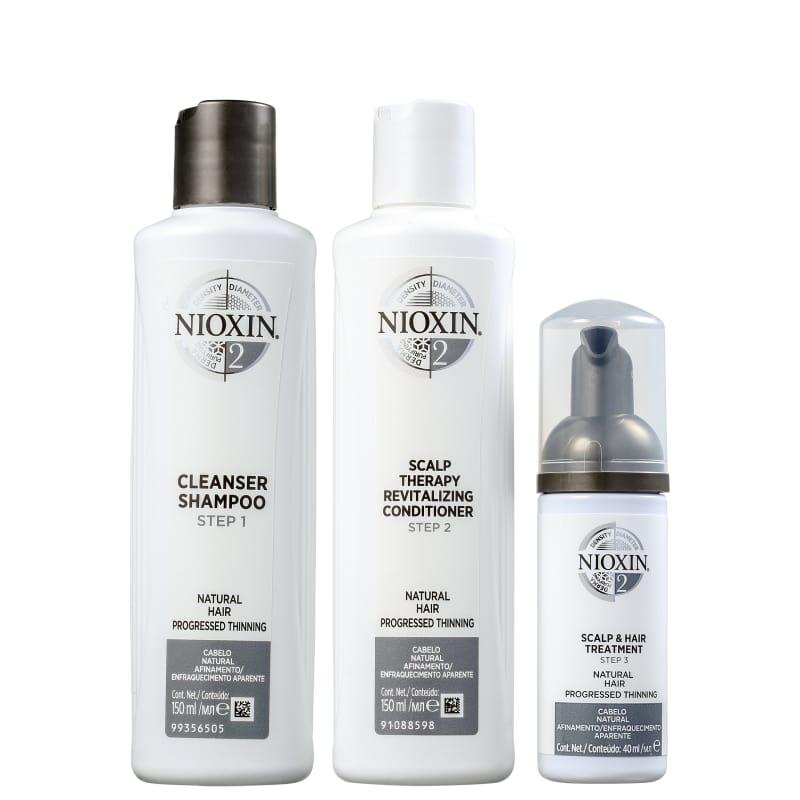 Nioxin Kit System 2 Small (3 Produtos)