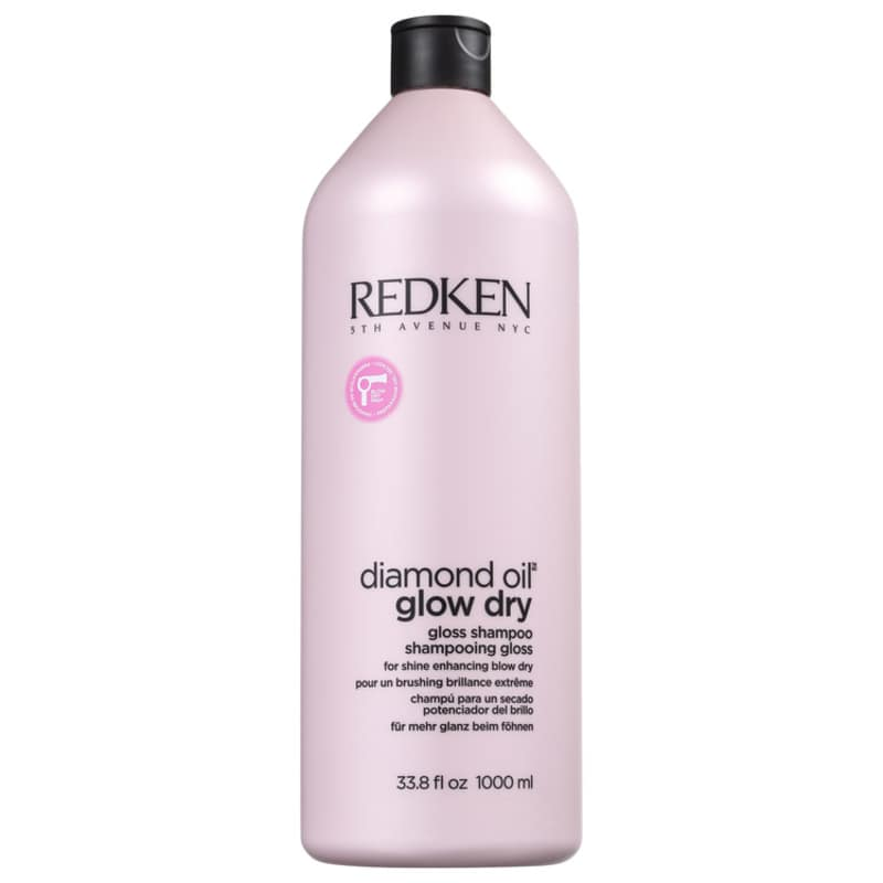 Redken Diamond Oil Glow Dry Gloss - Shampoo 1000ml